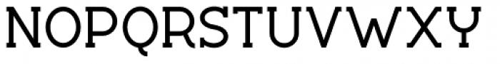 Silo Slab Semi Bold Font UPPERCASE