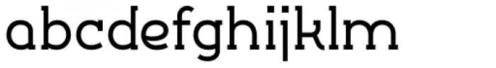 Silo Slab Semi Bold Font LOWERCASE