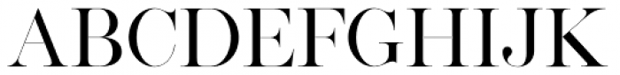 Silver South Serif Font UPPERCASE