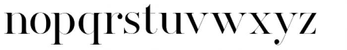 Silver South Serif Font LOWERCASE