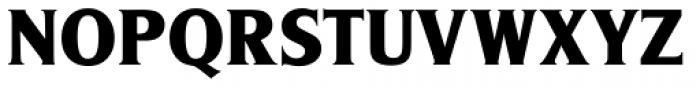 Silverado ExtraBold Font UPPERCASE