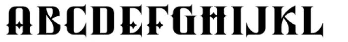 Silverblade Regular Font LOWERCASE
