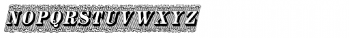 Silverland Italic Font UPPERCASE
