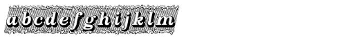 Silverland Italic Font LOWERCASE