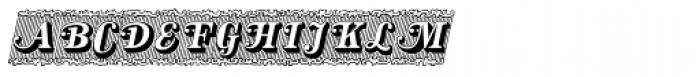 Silverland Swash Font UPPERCASE
