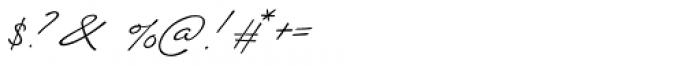 Silverline Regular Font OTHER CHARS