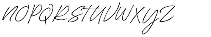 Silverline Regular Font UPPERCASE