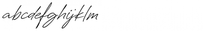 Silverline Regular Font LOWERCASE