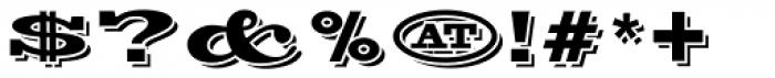 Silverton Alternate Font OTHER CHARS