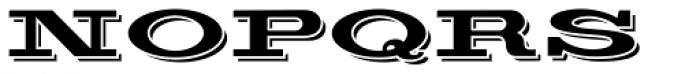 Silverton Alternate Font UPPERCASE