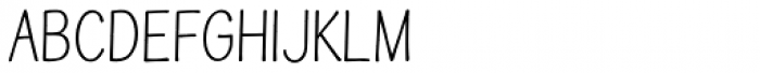 Simiate Compact Font UPPERCASE