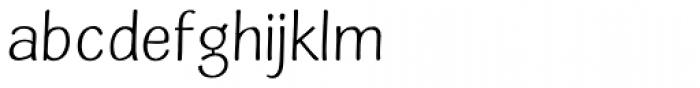 Simiate Font LOWERCASE
