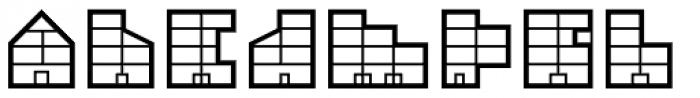 Simple Elevation Regular Font LOWERCASE