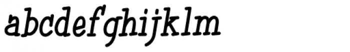 Simple Serif Bold Font LOWERCASE