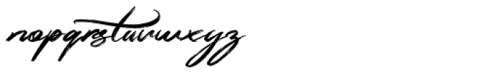 Simpletune Regular Font LOWERCASE
