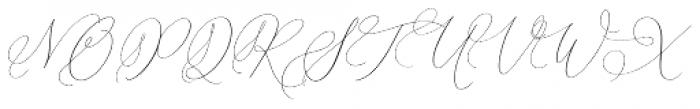 Simplicity Angela Regular Font UPPERCASE