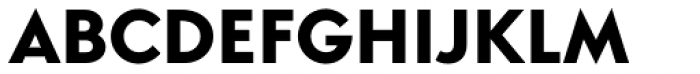 Simplo Heavy Font UPPERCASE