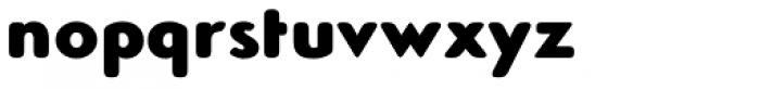 Simplo Soft Black Font LOWERCASE