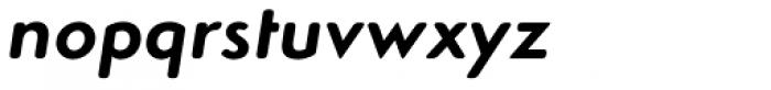 Simplo Soft Bold Italic Font LOWERCASE