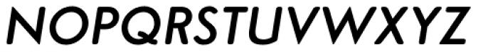 Simplo Soft Demi Italic Font UPPERCASE