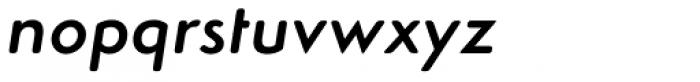 Simplo Soft Demi Italic Font LOWERCASE