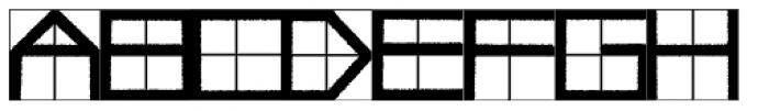 Simppeli Font UPPERCASE