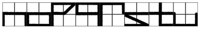 Simppeli Font LOWERCASE