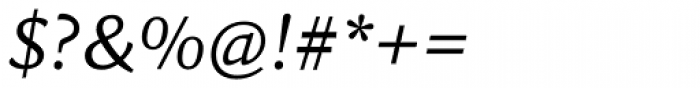 Sina Italic Font OTHER CHARS