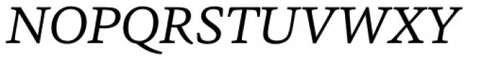 Sina Italic Font UPPERCASE