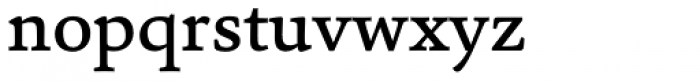 Sina Medium Font LOWERCASE