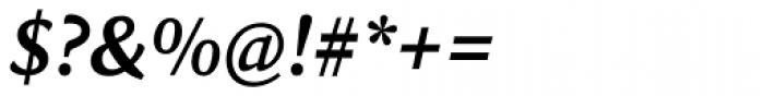 Sina Nova Bold Italic Font OTHER CHARS