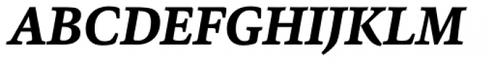 Sina Nova ExtraBold Italic Font UPPERCASE