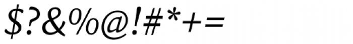 Sina Nova Italic Font OTHER CHARS