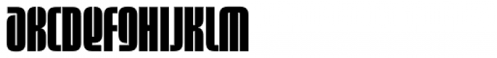 Sinclair Biform Font UPPERCASE