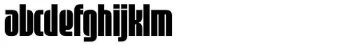 Sinclair Display Font LOWERCASE