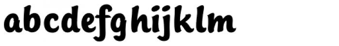 Sinclair Script RR Bold Font LOWERCASE