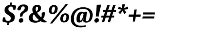 Sindelar Bold Italic Font OTHER CHARS