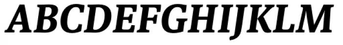 Sindelar Bold Italic Font UPPERCASE