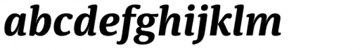 Sindelar Bold Italic Font LOWERCASE