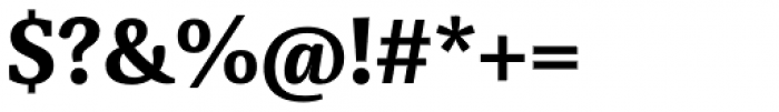 Sindelar Bold Font OTHER CHARS