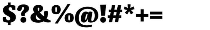 Sindelar ExtraBlack Font OTHER CHARS