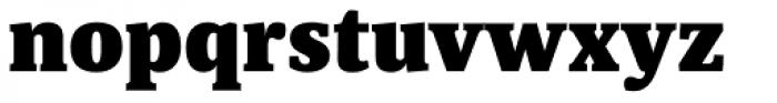 Sindelar ExtraBlack Font LOWERCASE