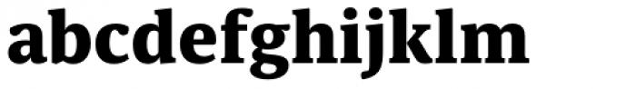 Sindelar ExtraBold Font LOWERCASE