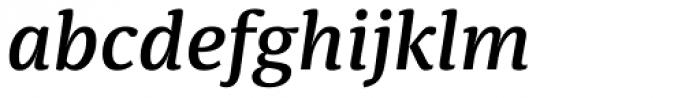 Sindelar Medium Italic Font LOWERCASE