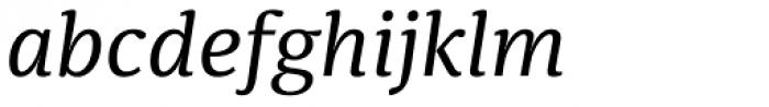 Sindelar Regular A Italic Font LOWERCASE
