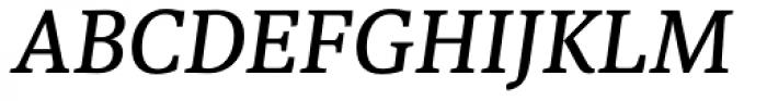 Sindelar Regular C Italic Font UPPERCASE
