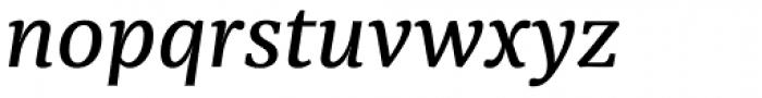 Sindelar Regular C Italic Font LOWERCASE