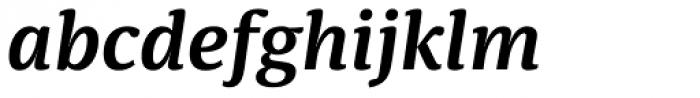 Sindelar SemiBold Italic Font LOWERCASE