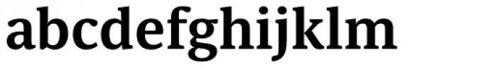 Sindelar SemiBold Font LOWERCASE