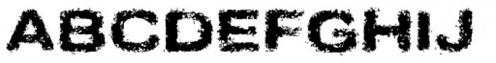 Sinder Font UPPERCASE